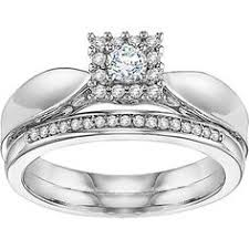 Wedding Rings Sets At Walmart by Platinaire Bridal Set Bridal Sets Ring And Engagement