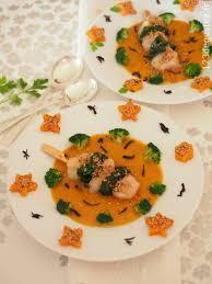 cuisine au thé cuisine au thé brochette de cabillaud sur velouté de butternut