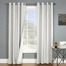 Black And White Thermal Curtains Black And White Thermal Curtains 1 Trellis Insulated Grommet