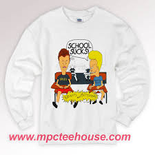 Beavis And Butthead Halloween by Beavis And Head Sweatshirt Mpcteehouse