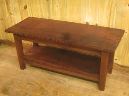 Redwood Coffee Table Curly Redwood Coffee Table 20 H X 44 75 W X 17 75 D 899