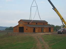 Monitor Style Barn by Horse Barns Amish Built Pa Nj Md Ny J U0026n Structures