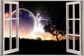 wall decals universe color the walls of your house wall decals universe huge 3d window universe space voyage view wall stickers decal