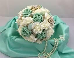 mint green flowers mint green brooch bouquet search mint green wedding
