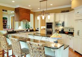 kitchen backsplash ideas for white cabinets christmas lights spacious country kitchen with white cabinetry throughout with mustard yellow walls