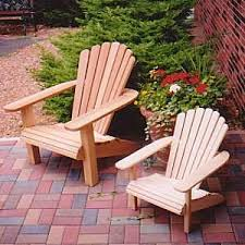Adirondack Deck Chair Outdoor Wood Plans Download by Adirondack Chair Patterns The Child U0027s Fan Back 4h Adirondack