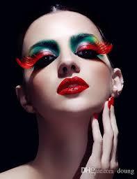 halloween party chrismas false eyelashes natural curl beautiful