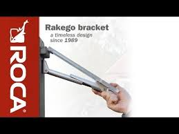 Folding Bracket For Tables And Benches Rakego Folding Bracket Youtube