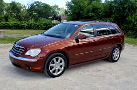 2007 chrysler pacifica bronze limited suv sale