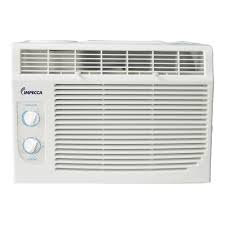 Window Ac With Heater 5 000 Btu H Mechanical Controlled Mini Window Air Conditioner