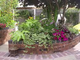 spiral brick raised vegetable beds raised tudor brick flower