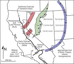 Sonoma California Map Geotectonic Evolution Of The Great Basin Geosphere Geoscienceworld