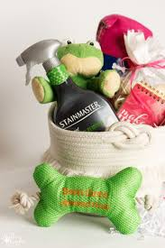 Pet Gift Baskets Quick And Easy Pet Gift Basket For New Pets Or Great Christmas Gift