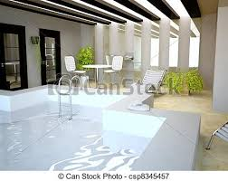 pool inside house swimming pool inside house in 3d stock illustrations search eps