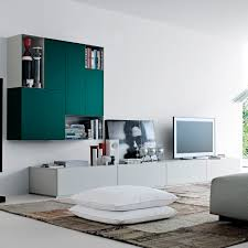Modular Wall Units Contemporary Tv Wall Unit Lacquered Wood Oak Modular