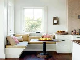 Built In Storage Bench Furniture Elegant Dining Furniture Design With Cool Corner