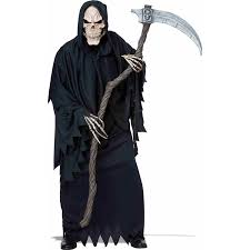 amazon com california costumes men u0027s reaper scythe brown silver