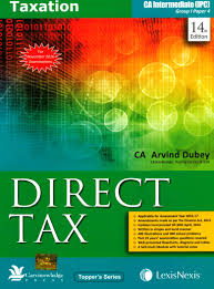 lexisnexis yellow book lexis nexis direct tax for ca inter ipcc by arvind dubey for