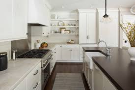 modern farmhouse kitchen cabinets white 36 modern farmhouse kitchens that fuse two styles perfectly
