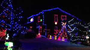 Christmas Lights Installation Toronto by Christmas Lights At 11 Wanda Crescent In Rothesay Nb Youtube