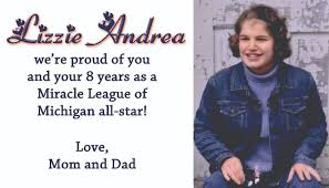 2014 miracle league of michigan yearbook easterseals miracle