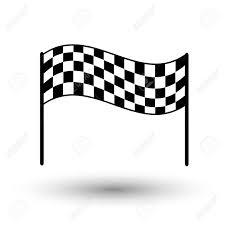 Finish Line Flag Start Flag Checkered Flag Finish Flag Eps 10 Royalty Free