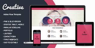 45 best adobe muse templates free u0026 premium download