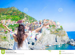 Manarola Italy Map by Back View Of Happy Background Beautiful View Of Manarola