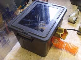 Used Blast Cabinet Homemade Shot Grit Blasting Cabinet 5 Steps With Pictures