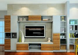 living room tv cabinet combination practical style 3d house