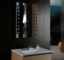 illuminated demister bathroom mirrors bathroom mirror shaver socket ebay