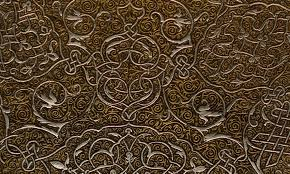 Ottoman Design Zoë Design Filigree Wall Coverings With Twists And Turns