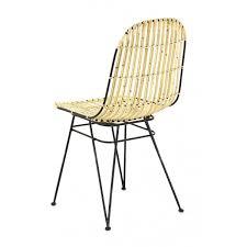 chaise kubu 2x chaise kubu et métal melody zago store
