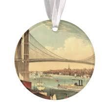 new york bridge ornaments keepsake ornaments zazzle