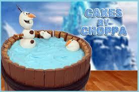 olaf kit kat cake disney u0027s frozen how to youtube