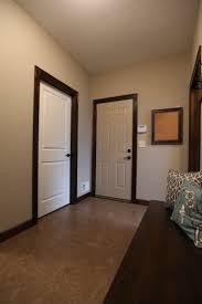modern white bi folding interior door