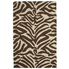 Brown Zebra Area Rug Brown Zebra Print Area Rug Rugs Gallery Pinterest Zebra