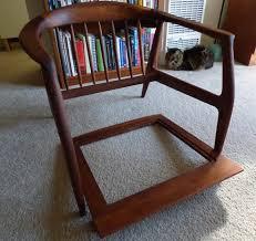 Where To Buy Upholstery Webbing Mid Century Teak Chair Seat Repair Webbing Advice Needed