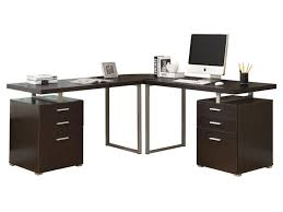 Glass Desk With Storage Office Desk Classy Ideas Stunning Modern Glass Desk Get Ideal