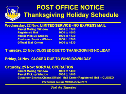 post office notice these are the hours osan air base post