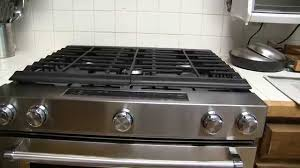 Slide In Gas Cooktop Kitchenaid 5 8 Cu Ft Gas Range With Convection Oven Model