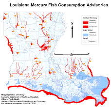 Louisiana rivers images Health fish consumption advisories program mercury advisories gif