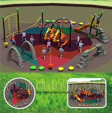 Kids Outdoor Entertainment - exported to spain tuv certificated kids outdoor playground slide