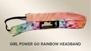 go girl headbands power go headbands