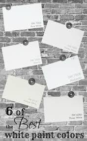 six of the best white paint colors white paint colors white