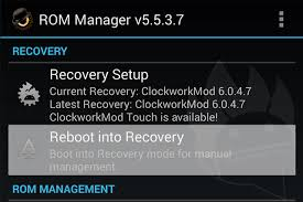 cwm recovery apk flash install clockworkmod recovery on android phone tablet cwm