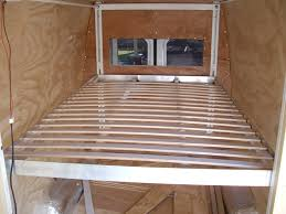 Rv Bed Frame You Ll Want To Copy This Australian Sprinter Conversion