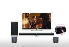 true sound home theater lg sh7b 360w 4 1ch music flow sound bar w subwoofer lg usa