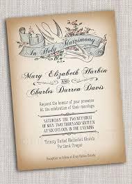 vintage style wedding invitations vintage style printable wedding invitation bridal announcement