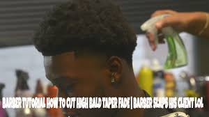 what is a cruddy hair style barber tutorial how to cut high bald taper fade cruddy curls